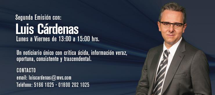 Segunda Emisión con Luis Cárdenas